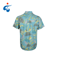TY190327-09 Factory direct custom made hawaiian casual party wear new shirts design for men