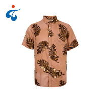 TY190327-03 2019 hot sale sleeve design summer hawaiian shirt TY190503