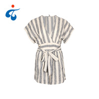 TY190327-15 Hot sale newest design summer loose striped sexy women jumpsuits and rompers