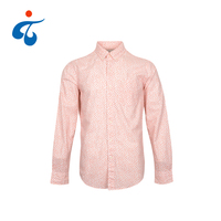 TY190327-01 Hot selling 100% cotton printed man long sleeve shirt